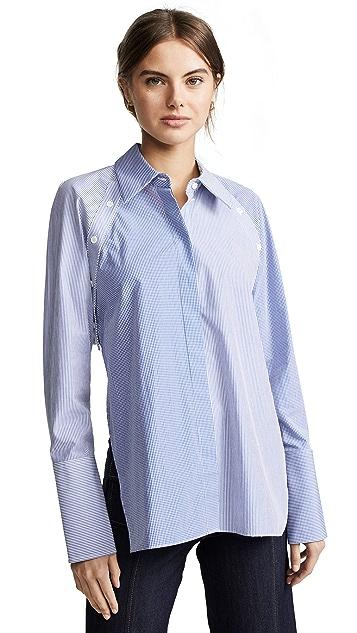Dion Lee Binary 衬衫