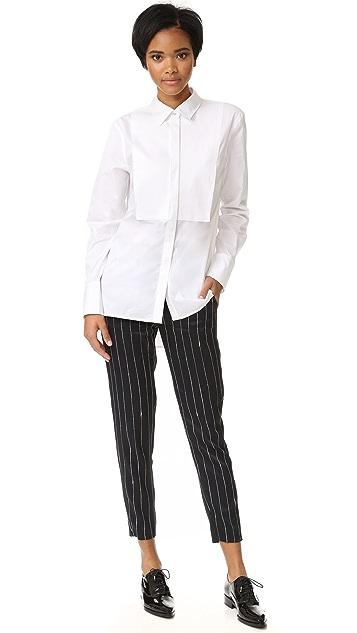 DKNY Pure DKNY 长袖礼服式衬衣