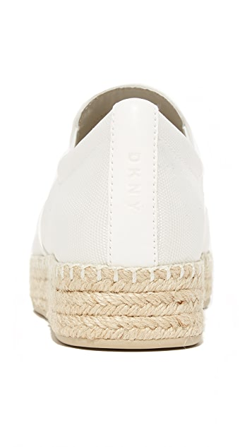 DKNY Trey 编织底鞋