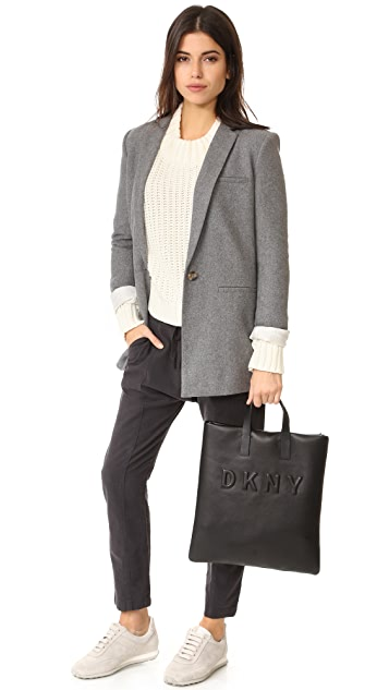 DKNY 徽标手提袋
