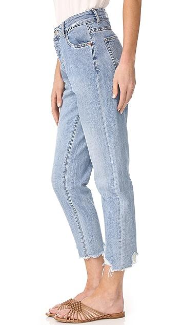 DL1961 Goldee 高腰锥形牛仔裤