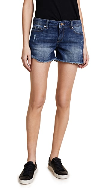 DL1961 Karlie 牛仔布短裤
