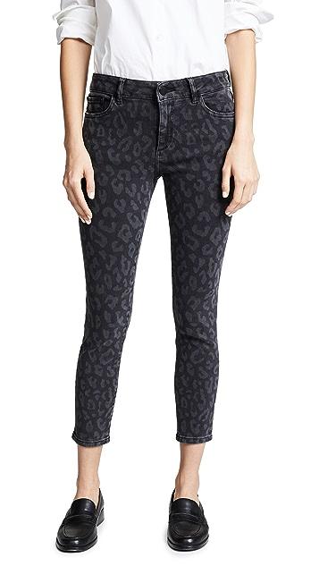 DL1961 Florence Crop Instasculpt 紧身牛仔裤