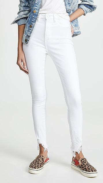 DL1961 Chrissy 超高腰紧身牛仔裤