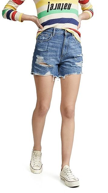 DL1961 Hepburn 高腰短裤