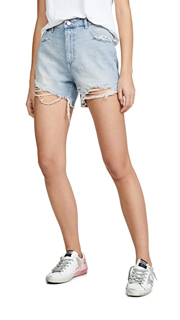 DL1961 Hepburn 高腰阔腿短裤