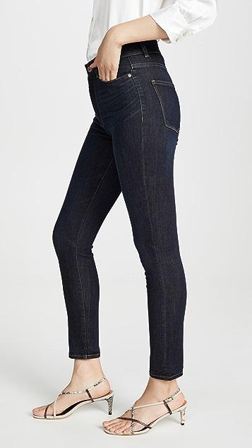 DL1961 Farrow 九分高腰紧身牛仔裤