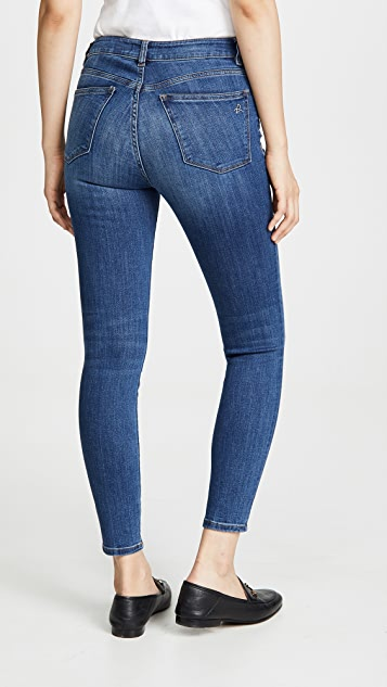 DL1961 Florence 中腰及踝紧身牛仔裤
