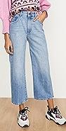 DL1961 x Marianna Hewitt Hepburn 高腰阔腿裤