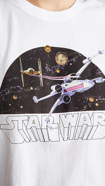 David Lerner Stars Wars X-Wing 健美 T 恤