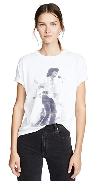 David Lerner Hendrix Concert 男孩风格 T 恤