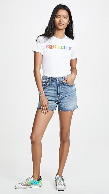 David Lerner Rainbow Equality T恤