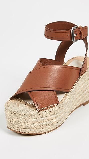 Dolce Vita Carsie 编织厚底凉鞋