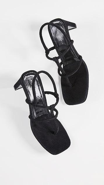 Dorateymur 夹趾高跟凉鞋