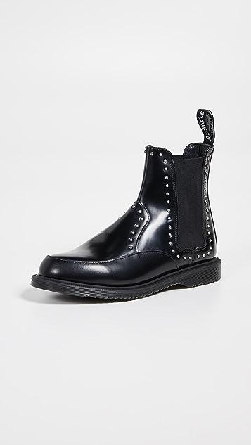 Dr. Martens Aimelya 铆钉切尔西靴子