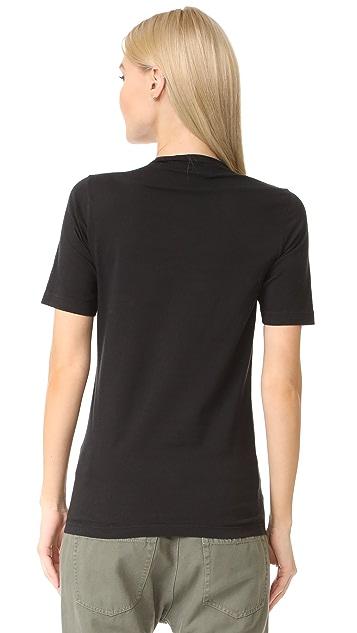DSQUARED2 拼贴 T 恤