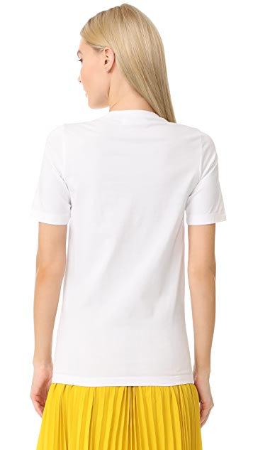 DSQUARED2 缎带 T 恤