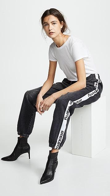 Denim x Alexander Wang 运动裤