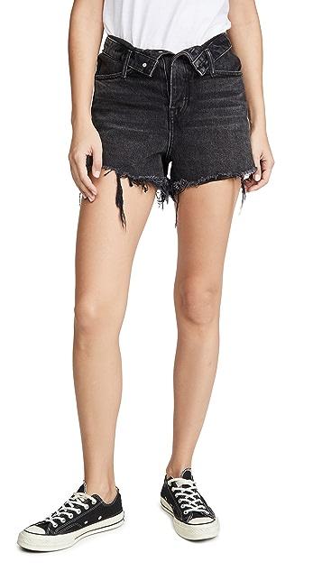 Denim x Alexander Wang Bite Flip 短裤