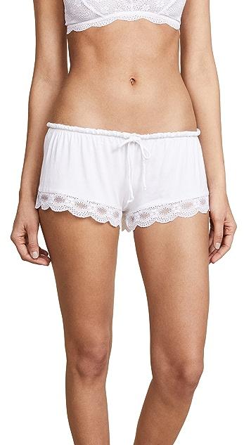 Eberjey 印度蕾丝短裤