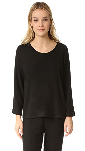 Eberjey Sweater Weather 长袖 T 恤