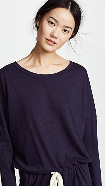 Eberjey 混色纱休闲 T 恤
