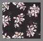 黑色印花花蕾