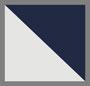 象牙白/海军蓝
