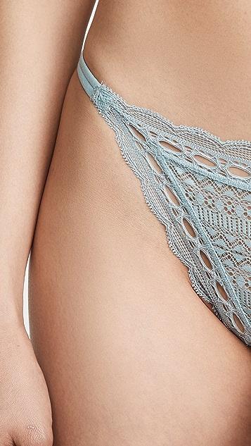 Eberjey Iris 双系带比基尼泳裤