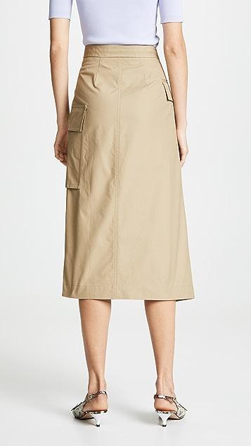 Edition10 工装中长半身裙