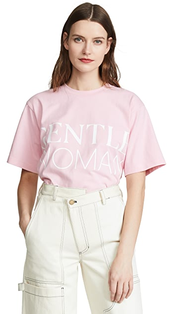 Edition10 Gentle Woman T 恤