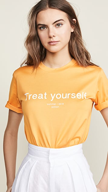 Edition10 Treat Yourself T 恤