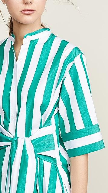 Edition10 条纹  连衣裙