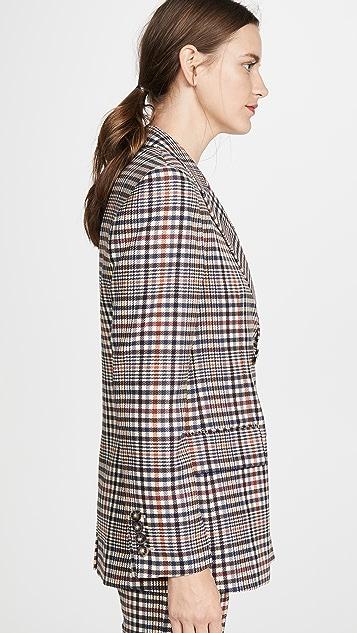 Edition10 威尔士格纹西装外套