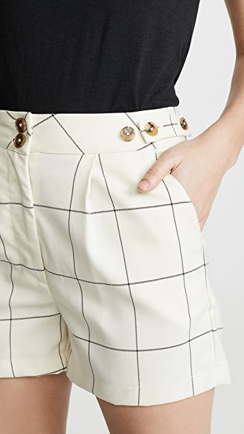 ei8htdreams Sydney 格纹短裤
