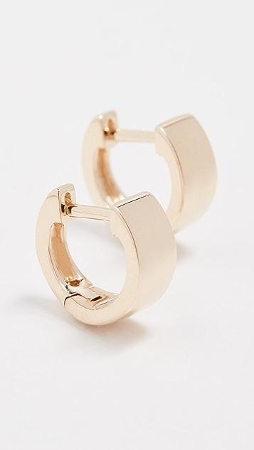 EF Collection 14K 金大号贴耳式耳环