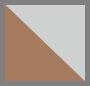 透明水晶/棕色
