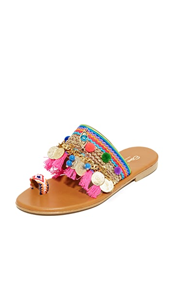 Elina Linardaki Jaipur 趾环凉鞋