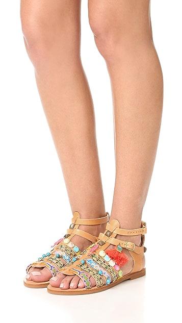 Elina Linardaki Saltwater 凉鞋