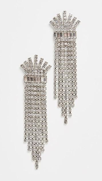 Elizabeth Cole 水晶耳环