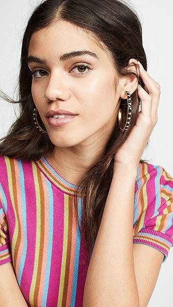 Elizabeth Cole Bernadette 圈式耳环
