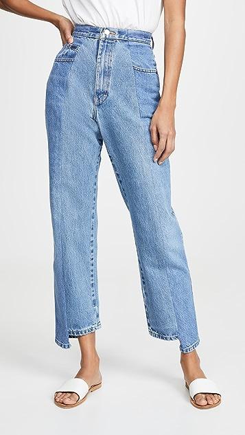 E.L.V. Denim The Twin 男友风格牛仔裤