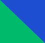 翡翠绿/深蓝色