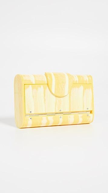 Edie Parker Mini Lara Solid 化妆品盒