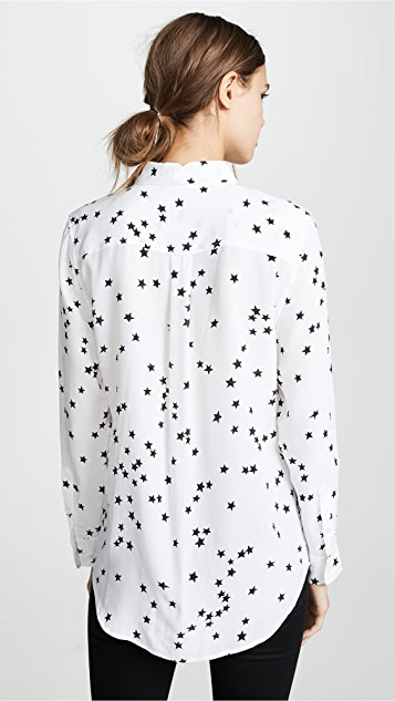 Equipment 修身标志性真丝女式衬衫
