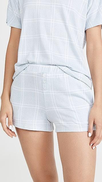 Emerson Road Whisperluxe 短裤睡衣套装