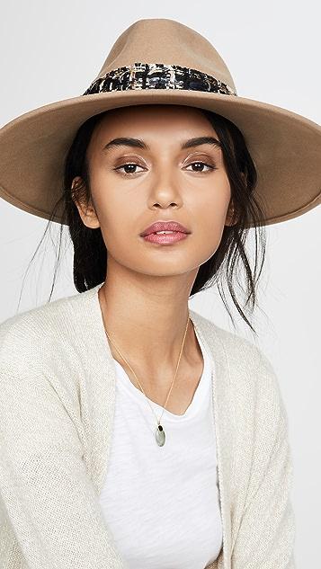 Eugenia Kim Emmanuelle 宽帽沿费朵拉帽