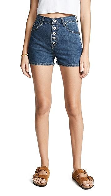Eve Denim 狮元素短裤