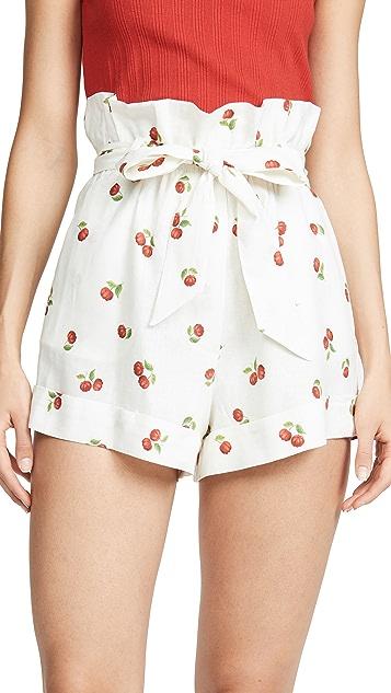 Farm Rio Mini Pitanga 纸袋短裤