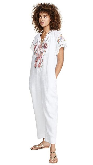 Farm Rio 刺绣连身衣
